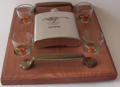 CHEETAHS SHOOTERS WITH HIP FLASK